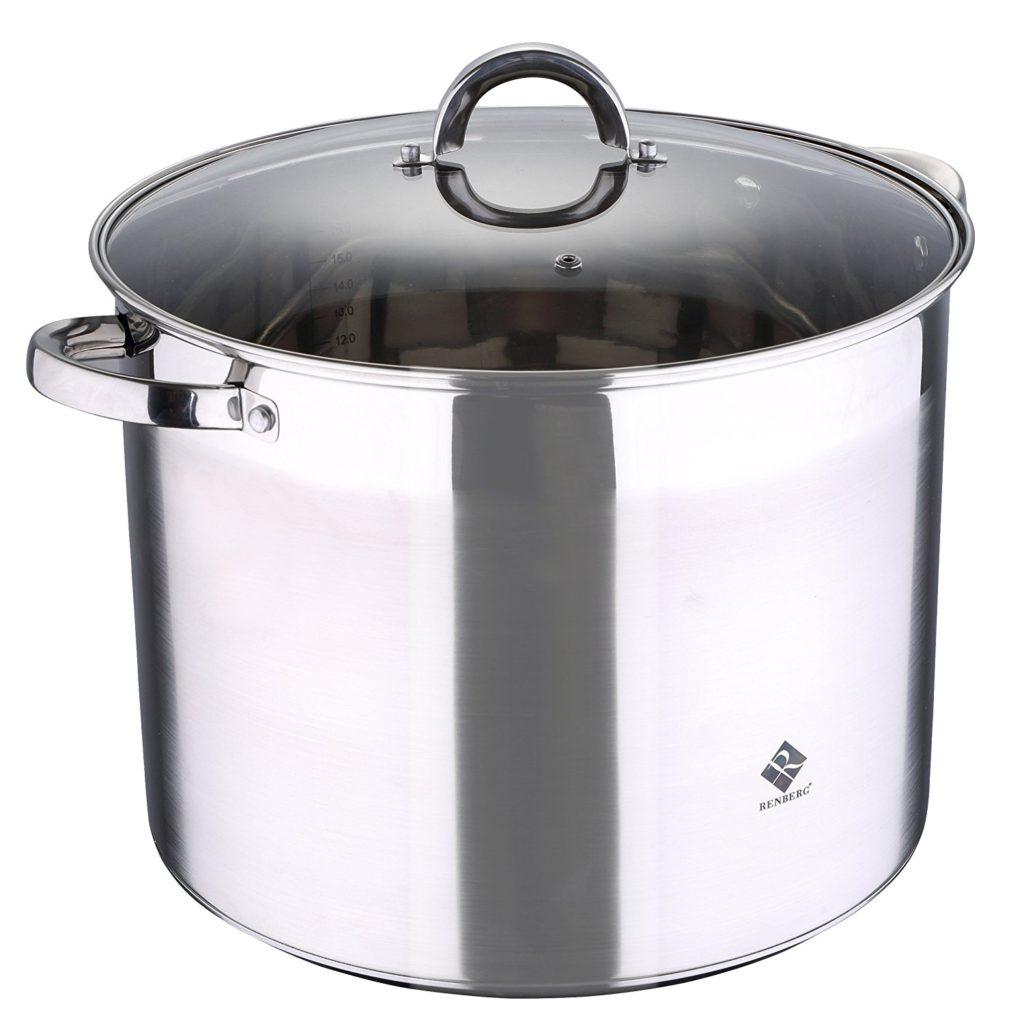 olla de cocina de acero inoxidable