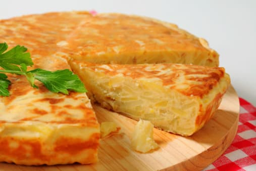 tortilla patatas light